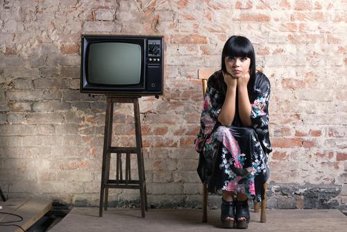 テレビと女