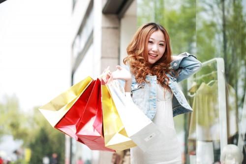 買い物ガール