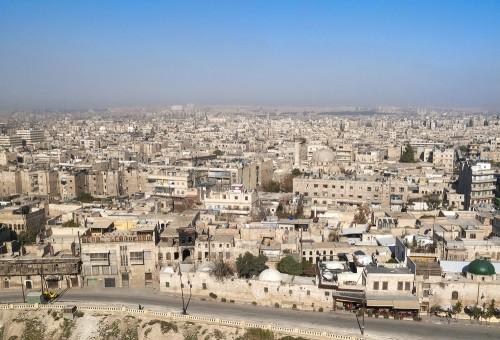 シリアの街