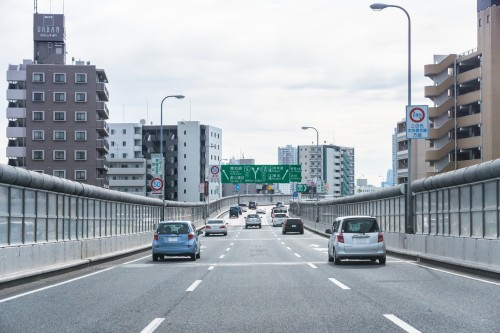 高速道路ドライブ