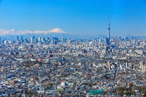 ジャバ / PIXTA(ピクスタ)東京スカイツリー富士山