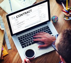 Contract Deal Agreement Legal Document Concept